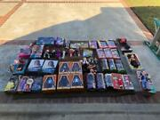 Huge Lot Of Entertainment Tv Movie Dolls - Valued Over 1400