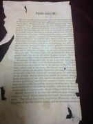 1844 Pacific Innuendo Joseph Smith Extremely Rare Lds Mormon Item Pamphlet