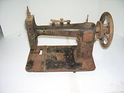 Antique Will C. Free Sewing Machine Chicago For Parts Or Restoration