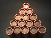 1800and039s -1900and039s Indian Head/wheat Penny Rolls From Estate Lot Sale