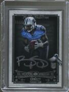 2014 Topps Museum Collection Framed Sliver /25 Bishop Sankey Fa-bs Rookie Auto