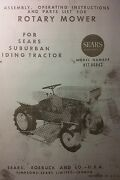 David Bradley 725 Garden Tractor Mower And Engine Owner And Parts 3 Manuals Sears