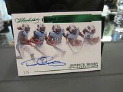 Panini Flawless Rookie On Card Autograph Titans Derrick Henry 1/5 2016
