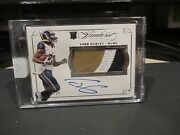 Panini Flawless Rookie On Card Autograph Jersey Rams Todd Gurley 05/25 2015