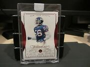 Panini Flawless Ruby Encased Base Card Giants Lawrence Taylor 12/15 2015