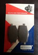 Helm And Son Hands Nos Old School Disc Brake Pads. 38w-w0045-00. Yamaha Tri-z Xt350