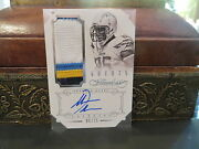 Panini Flawless Silver Autograph Jersey Chargers Auto Antonio Gates 05/25 2014