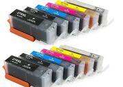 12pk Ink Toner Cartridge For Canon Pixma Ts9020 Cannon All-in-one Inkjet Printer