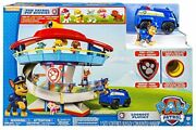 Paw Patrol Lookout Playset With 6 Pup Figures Exclusive Brand New