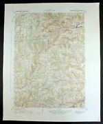 1942 Canaseraga New York Alfred Vintage Military Army Corp Of Engineers Topo Map