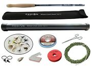 Tenkara Fly Rod - Wilson Creek Zoom 10and039/11and039 W/starter Kit- Japanese Carbon Fiber