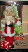 I Love Lucy The Christmas Show Ethel Mertz Collector Doll 50s Tv Comedy Gay Int