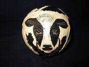 Briere Folk Art Pull Toy 1988 Cow Ball Only Excellent