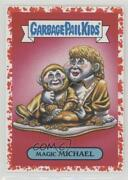 2017 Garbage Pail Kids Battle Of The Bands Bloody Nose 44/75 Magic Michael 0c4