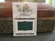 National Treasures Rookie Jersey Autograph Packers Jordy Nelson 85/99 2008
