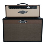 New Vintage Amps Ck30 Guitar Amp Head 30w Brown And Blonde W/ Black Cab