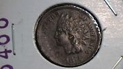 1874 Indian Head Cent Full Liberty On This Historic American Coin 211b4