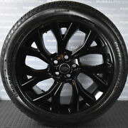 Black Range Rover 21 Alloy Wheels And Mud And Snow Tyres 275 45 21 2019 X 4