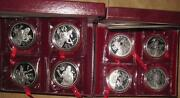 199597 China The Culture Of Yellow River12 10 Proof Silver Coins Set Rare