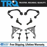 Trq Front Control Arm Tie Rod Sway Bar Link Steering Suspension Kit 8pc For F150