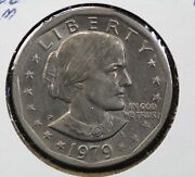 1979-p Susan B Anthony Dollar Near Date And Wide Rim