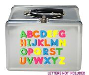 8 Lunch Boxes Retro Look Birthday Party Favors Kids Metal Tin