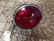 Guide Warnray Early Emergency Lamp Red Glass Gmc Chevy Vintage Auto Truck Light
