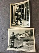 The Invisible Boy 1957 Orig. 8x10 Bandw Still Photos 2 Robby The Robot Fine-