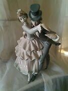 Lladro 5799 Shall We Dance Figurine Young Couple Dancing Very Rare