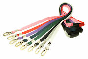 Plain Lanyard X 500 With Lobster Clip And Safety Breakaway - Free Delivery