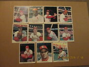 Mlb St.louis Cardinals Vintage1970and039s Lot Of 11 Color Baseball Player Photos