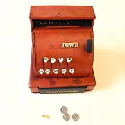 Tom Thumb Cash Register Vintage Tin Toy Western Stamping Co 1950s Usa Made Works