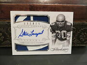 Panini Flawless Silver Autograph Jersey Seahawks Auto Steve Largent 03/25 2014