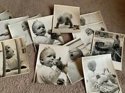 Lot Of 12 Vintage Baby Photos By Russ Rypsam Nyc 8x10