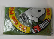 Charlie Brown And Snoopy Inflatable Childs Chair W/ Lucy Linus Gang Nip