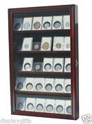 Collector Ngc Pcgs Icg Coin Slab Display Case Rack Wall Cabinet, Coin-cc01