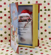 Needle Felted Night Before Christmas Book And Mouse