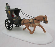 Department Dept 56 Heritage Village Collection Kings King's Road Cab 5581-6