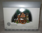 Department Dept 56 New England Village Series Mountain View Cabin 25 56.56625