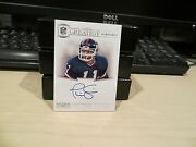 National Treasures Greatest Signatures Autograph Giants Phil Simms 17/25 2012
