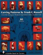 Carving Patterns Book Russell Whittle Carve Whittling Idea Wood Project Design