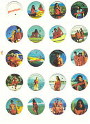 Baywatch Pogs Complete Set Tazos Toys Collection Figures Pamela Anderson Cards