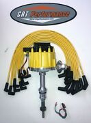 Ford 5.0l 302 Efi To Carb Conversion Hei Distributor Yellow + Taylor Plug Wires