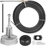 18ft Safe-t Ss13718 Quick Connect Boat Rotary Steering Cableandhelm Kit