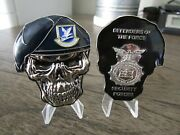 Usaf Security Forces Mpand039s Sf Defenders Of The Force Reapers Skull Challenge Coin