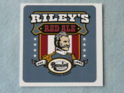 Beer Promo Piece Little Apple Brewing Co Riley's Red Ale Manhattan, Kansas