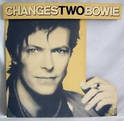 David Bowie U.k. Record Company 3-d Promo Shop Display Changes Two Bowie 1981