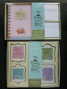 Nwt Hallmark / Disney Princess Stationery Address Book And Magnet Set Sold Out