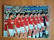 Original Autographes By Players Of The Ussr National Football Team In 1966