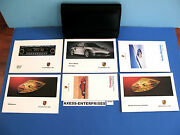 2002 Porsche 996 911 Turbo Coupe 6 Speed Tip S Owner Manuals Books Package H185